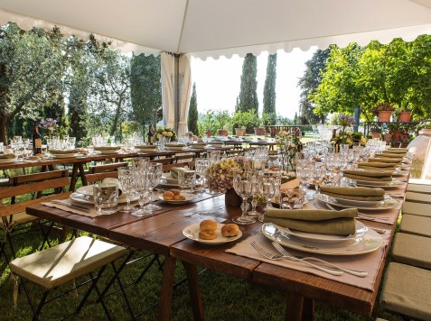 matrimonio stile country guido guidi catering firenze