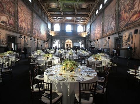 Ermanno Scervino Firenze Celebrity Fashion Night Cena di gala Palazzo Vecchio con concerto Andrea Bocelli guido guidi