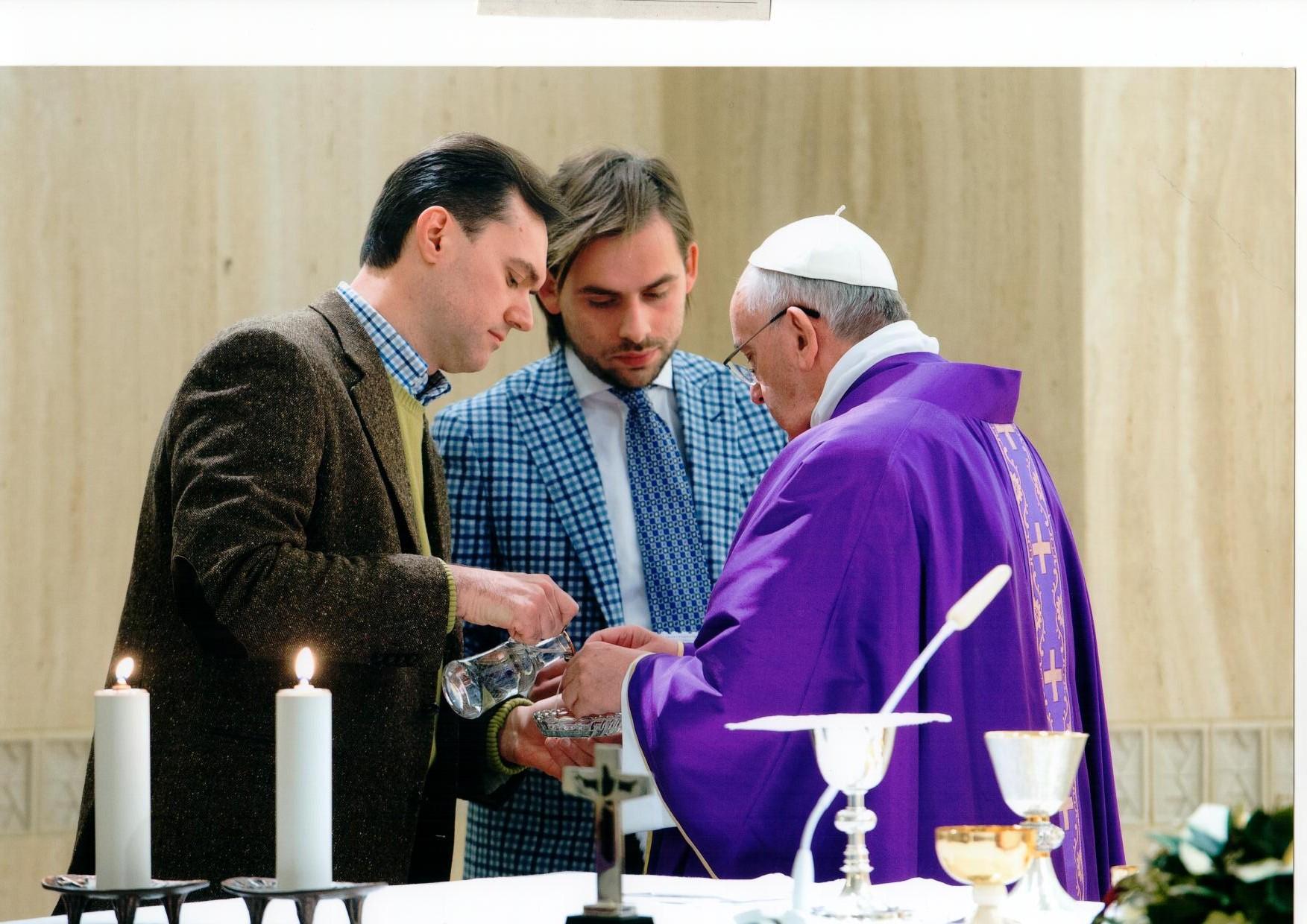 incontro papa guido guidi firenze toscana